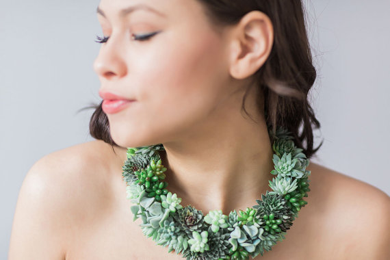 Passionflower necklace